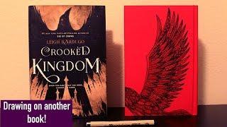 Crooked Kingdom Book Defacing!