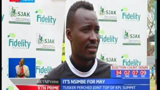 Sports Journalist Association of Kenya pick Tusker FC coach George Nisimbe for coach of the month