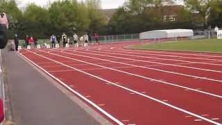 preview picture of video '100m at Chelmsford 11.74s'