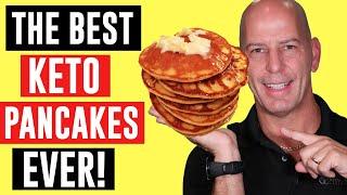 THE BEST KETO PANCAKES EVER!!  Easy keto recipes
