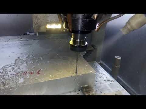 Rutech CNC - Wiercenie długie wiertło fi 5 - zdjęcie