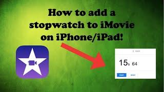 iMovie full tutorial 2017! How to edit !