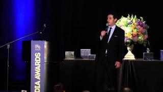 Aron Kader standup at 2014 Media Awards