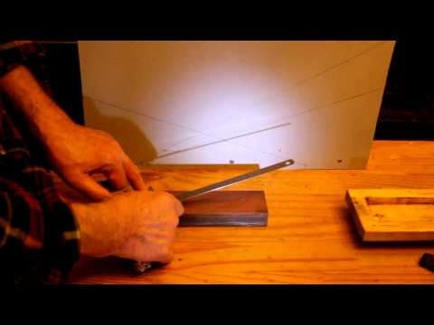 Determine The Proper Angle For Sharpening A Knife Using Shadows