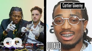 Glasses Experts Break Down Luxury Cartier Glasses (Migos, Young Thug) Part 3 | Fine Points | GQ