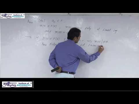 Minimal polynomial