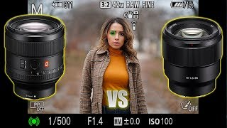 85mm 1.4GM vs 85mm 1.8 | Is the Gmaster worth $1200 more?