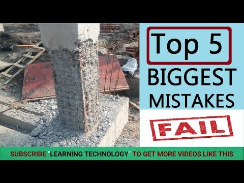 5 Biggest Mistake during House Construction at Site | Every Engineers Supervisors Must Watch