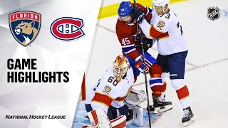 09/18/19 Condensed Game: Panthers @ Canadiens