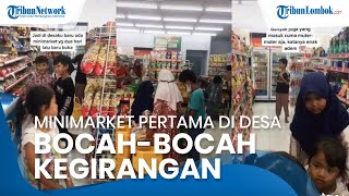 Viral Video Ada Minimarket Pertama di Desa, Bocah-bocah Kegirangan hingga Ada yang Numpang Ngadem
