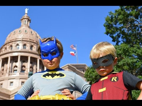 Little Batman and Robin (Kid Friendly Fan Video)