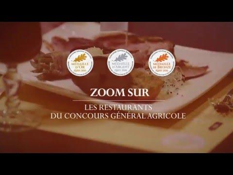 Voir la vidéo : Les restaurants du Concours Général Agricole