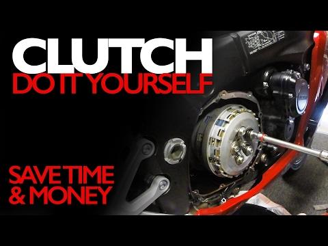 Change your own bike clutch - Save money