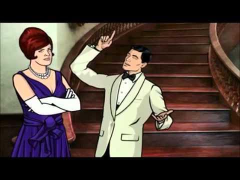 Video trailer för Archer Season 1 trailer/promo