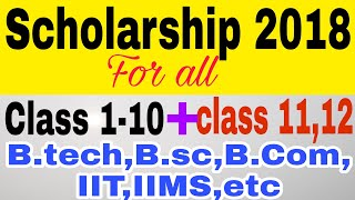 How To Apply For Pre-matric & Post-matric Scholarship Online 2018-19   National Scholarship Portal