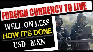 Using Foreign Currency to Live Well MXN/USD How It's Done