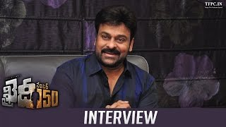 Mega Star Chiranjeevis Exclusive Interview About Khaidi No 150 Movie  TFPC