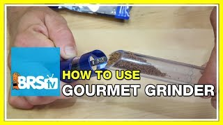 Feeding Fish with the Innovative Marine Gourmet Grinder - BRStv How-To