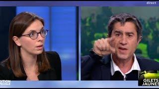 gros coup de gueule de françois ruffin contre une députée de macron a propos des gilets jaunes