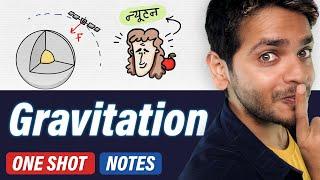 Gravitation | Live One Shot | Class 11 Chapter 8 Physics