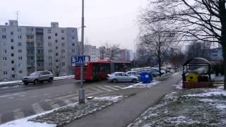 Irisbus Citelis 18M #61 leaving gen. Svobodu otoč