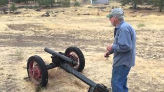 Uncle Chuck Homemade Cannon