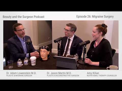 Nerve Blocks using Lidocaine and Botox for migraine pain and screening in migraine surgery