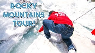 Drinking Out Of A Glacier - THE ROCKIES TOUR | Abi Abroad