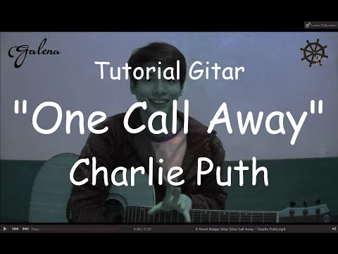 5 Menit Belajar Gitar (One Call Away - Charlie Puth) Mp3