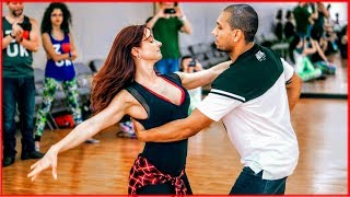 Fantastic Dance! Kadu Pires & Larissa Thayane in Atlanta - Zouk Foundations Workshop