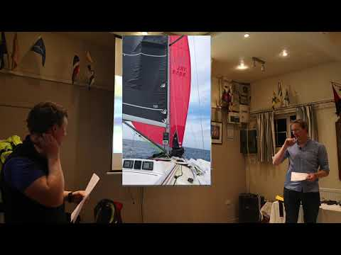 MOB recovery – Round Ireland Yacht Race 2018