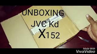 JVC KD X152 UNBOXING VIDEO