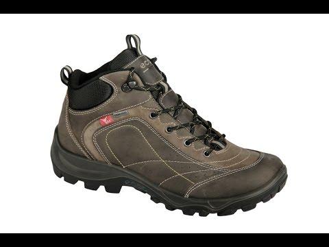 Ecco Xpedition 2 Schuhe in grau Yak Leder Boots Gore-Tex (152-20-0002)