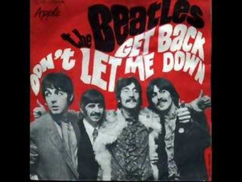 The Beatles - Don't Let Me Down video