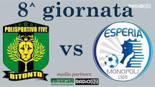 Polisportiva Bitonto - Esperia Monopoli