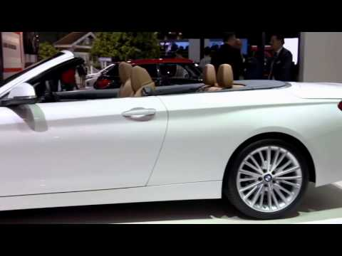 2014 BMW 4 Series Convertible    World Premiere at Tokyo Motor Show 2013