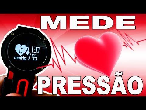 Aumento da pressão arterial filmagem