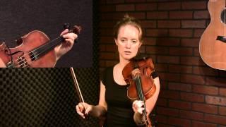 Reel Groove: Scottish Fiddle Technique Tutorial by Hanneke Cassel