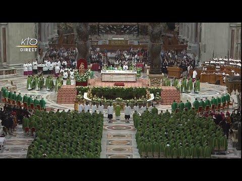 Messe pour la journée mondiale missionnaire