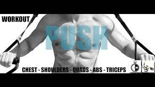 30分鐘TRX訓練 - 訓練胸、臀、肩膀、三頭、腹肌 出處 Fit Gent