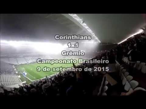 Veja a força da Fiel no jogo entre Corinthians e Grêmio