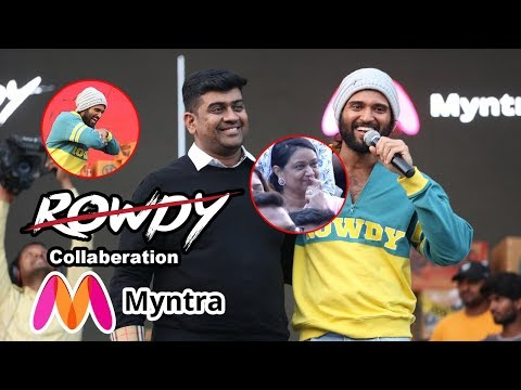 Rowdy Wear collaboration With Myntra