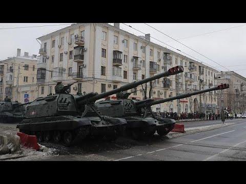 Ρωσία: Εμβληματική παρέλαση για τη Μάχη του Στάλινγκραντ