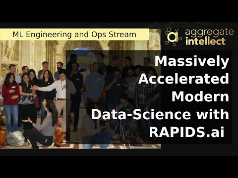 Massively Accelerated Modern Data-Science with RAPIDS.ai