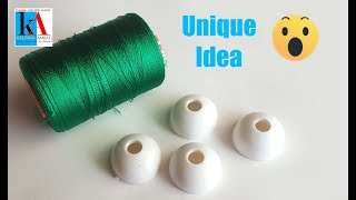 how to make beautiful silk thread blouse hangings at home    Unique DIY Idea