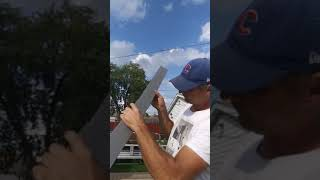 Aluminum Fascia! Best way to make it! Aluminum work-tips and tricks!