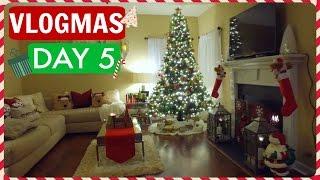 MY CHRISTMAS HOUSE TOUR! | Vlogmas Day 5 | Casey Holmes
