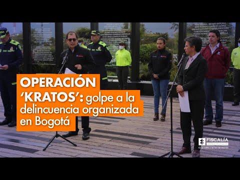 Fiscal Francisco Barbosa: Duro golpe a la delincuencia organizada en Bogotá