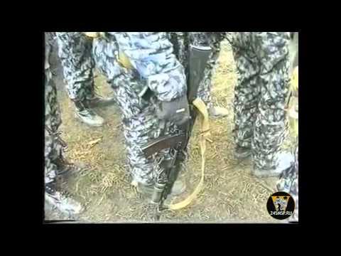 Белгородские милиционеры в Чечне.Курчалой
