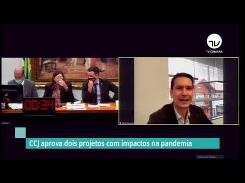 CCJ aprova dois projetos com impactos na pandemia - 12/05/21